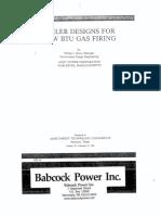 Low BTU Gas Firing RPI-TP-0016