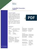 Product Information Model 9603-I