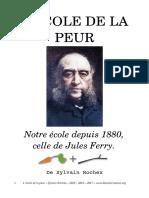 l Ecole de La Peur Sylvain Sylvain Rochex 2015 2017