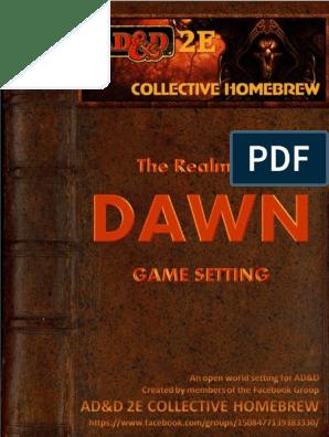 ADD2ECH GameSetting v4 1 Cmpr | Elf (Dungeons & Dragons