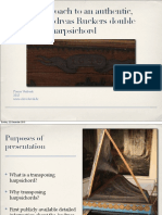 A Visual Approach to an Authentic, Unaltered 1640 Andreas RUCKERS Double Transposing Harpsichord, VERBEEK, P., 2011
