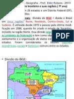 Cap 03 o Territorio Brasileiro e Suas Regioes
