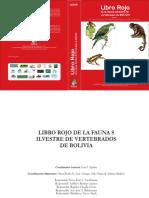 Libro Rojo Bolivia 2009 Vs1especiS