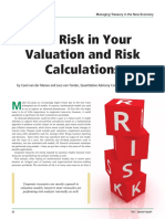 Treasury Management International 2013 Ernst&Young:The Risk in Your Valuation and Risk Calculations