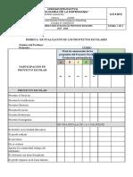 Rúbrica Para Los Proyectos Escolares Uesme 2017 2018(1)