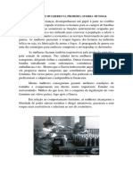 O PAPEL DAS MULHERES NA PRIMEIRA GUERRA MUNDIAL.docx