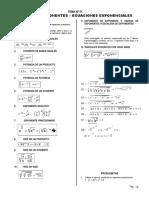 Teoria de Exponentes Radicales