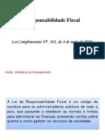Resumo Da Lei de Responsabilidade Fiscal- Contabilidade Pública (1)