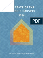 Harvard Univ - State of Nation's Housing '16