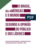 Brasil, Las Americas y el Mundo