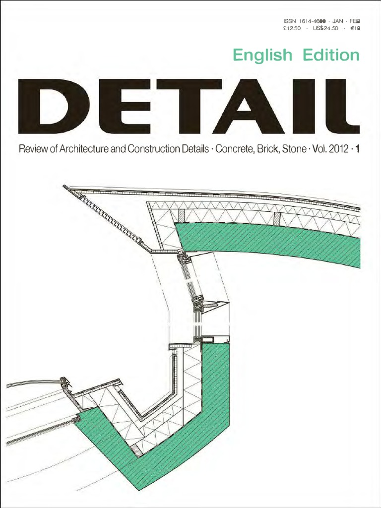 Detail Magazine 2012-01 (Jan-Feb) pdf | Medios de arte, Arte