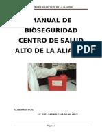 Manual-bioseguridad 2017 C.S. Alto de La Alianza
