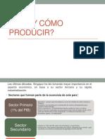 Qué y Cómo Producir 1