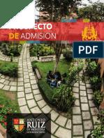 Prospecto 2018 - Universidad Antonio Ruiz de Montoya