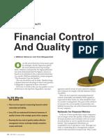 Control Financiero y Calidad