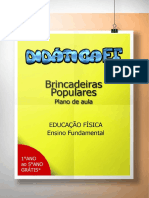 (Presente3) - Plano de Aula Brincadeiras Populares
