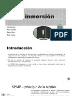 SPME-inmersión