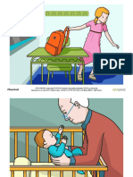 Construcción de frases y vocabulario. Verbos Coger y Comprar-2