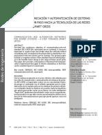 Redes de Comunicación y Automatización de Sistemas de Potencia - Un Paso Hacia La Tecnología de Las Redes Inteligentes Smart Grids-2012