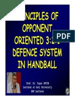 Sistema Defensivo 3 2 1