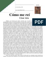 Aira Cesar - Como Me Rei