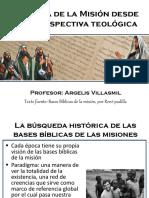 Historia de Las Misiones Desde Una Perspectiva Teológica