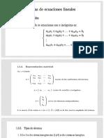 Clase 05- Sistemas de Ecuaciones