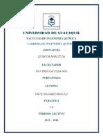 Portafolio, David Alvarez, Analitica