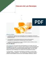 Cómase la Cáscara de Las Naranjas Orgánicas.docx