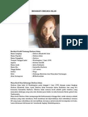 Biografi Chelsea Islan