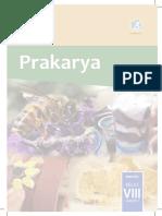 Kelas VIII Prakarya BS Sem 2SDS