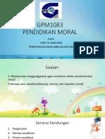 Gpm1083 Pendidikan Moral Presentation Kk