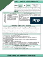 Plan 3er Grado - Bloque 2 Matemáticas (2016-2017)