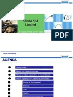 Minda SAI Limited - Corp Ppt2