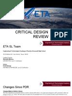 eta 2018 cdr presentation