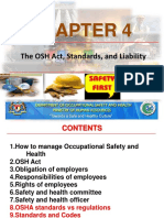 Chapter 4 - Osha Act Std Laibility -Zaizu