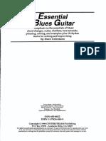 ZYa_zFalta_CD_Essential Blues Guitar Lessons, Dave Calentano