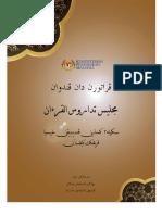 Buku Peraturan Dan Panduan MTQSS KPM V2018-1