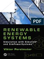 Renewable Energy Systems - Simulation With Simulink and SimPowerSystems