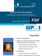 Gestión de Interesados PMI