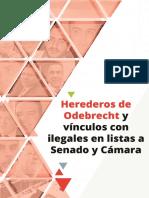 PARES Herederos de Odebrecht y Vínculos Con Ilegales en Listas a Senado y Cámara