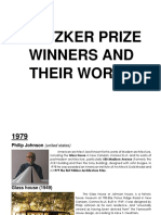 Pritzker Prize Winners and Their Works