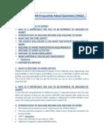 WTW FAQs