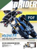 Australian Road Rider Magazine Media Kit 2018