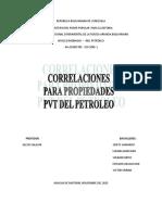 CORRELACIONES PVT