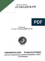 Bhagavadajjukam Bodhayana - V Prabhakara Sastri 1986.pdf