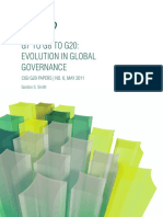 Evolution in Global Governance