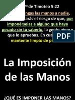 005 La Imposición de Las ManosPPT