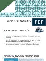 Biologia Vegetal 3 Clasificación