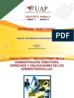 Derecho 5 Semana 5 - Facultades y Obligaciones de La a.t.